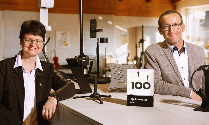 König & Meyer erhält Innovationspreis mit TOP 100-Siegel