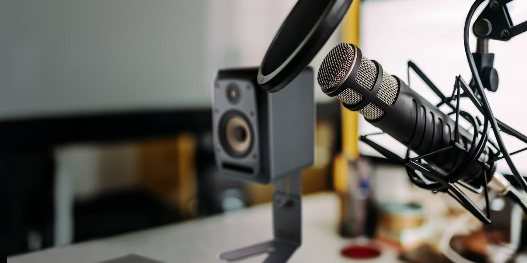 Equipment für die Podcast Produktion